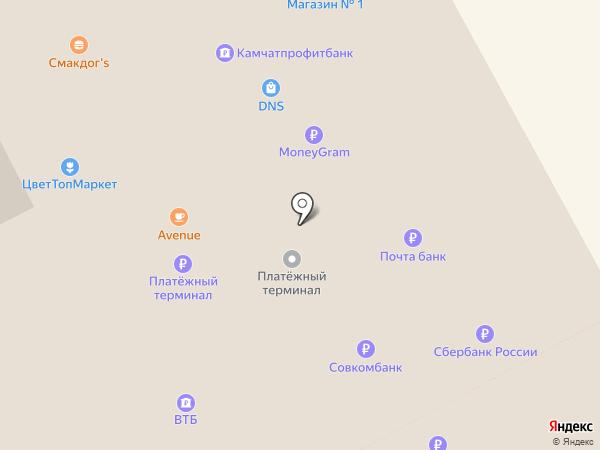 Магазин на карте Елизово