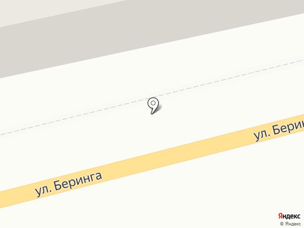 Елизовский карьер на карте Елизово