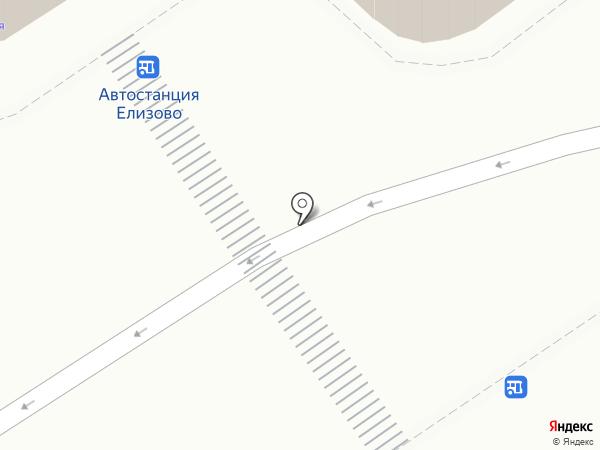 7 сот на карте Елизово