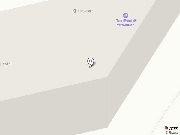 Золотой якорь на карте Елизово