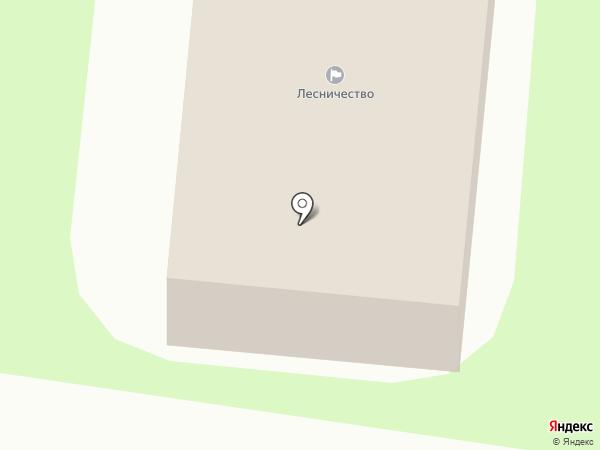 Елизовское лесничество, КГКУ на карте Елизово