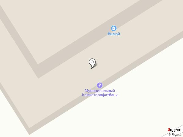 Банкомат, Россельхозбанк на карте Вилючинска