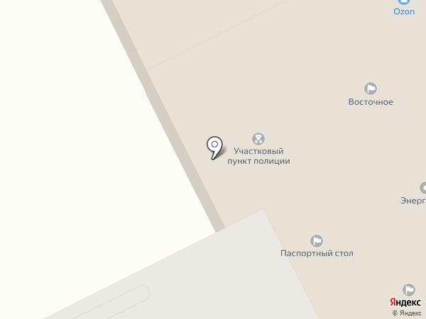 Участковый пункт полиции на карте Пионерского