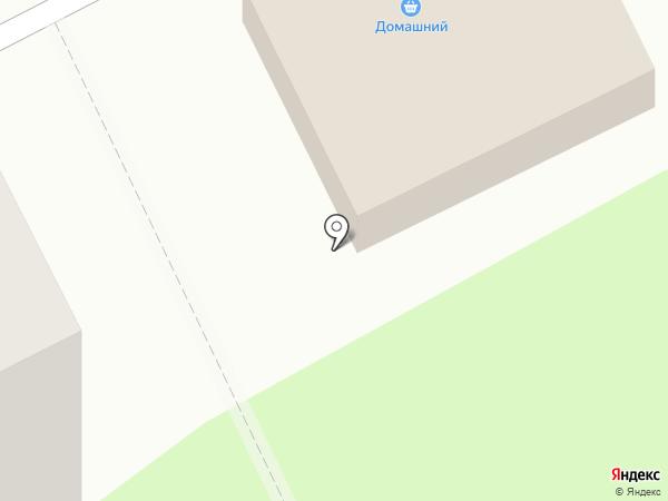 Домашний на карте Пионерского