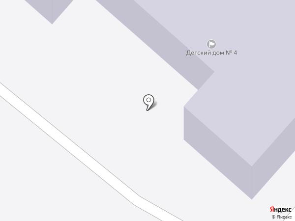 Детский дом №4 на карте Петропавловска-Камчатского