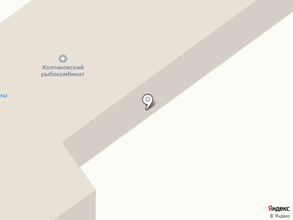 Скит на карте Петропавловска-Камчатского