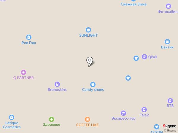 WANT. на карте Петропавловска-Камчатского