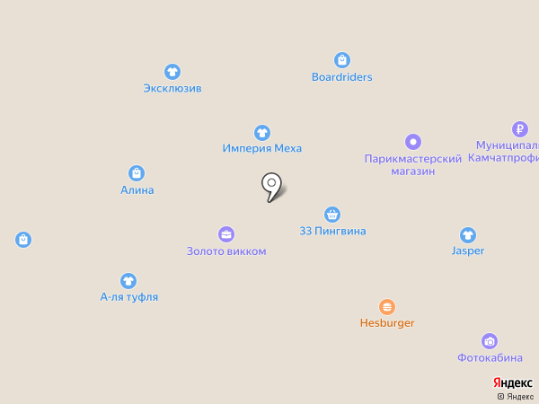 Новая книга-3 на карте Петропавловска-Камчатского