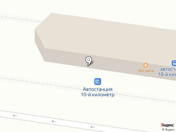 Автостанция на карте Петропавловска-Камчатского