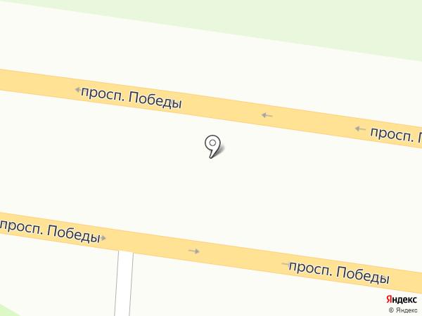 АЗС на карте Петропавловска-Камчатского