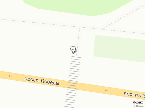 Сотовик на карте Петропавловска-Камчатского