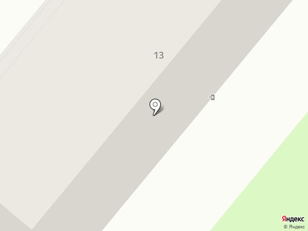 Общежитие на карте Петропавловска-Камчатского
