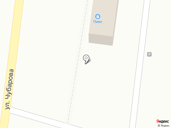 Магазин разливного пива на карте Петропавловска-Камчатского