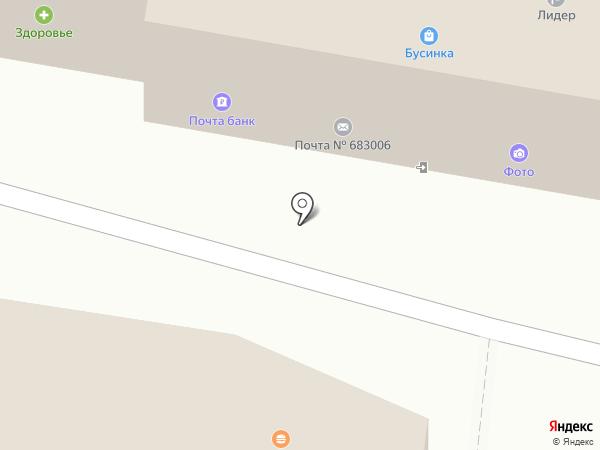 Виола на карте Петропавловска-Камчатского
