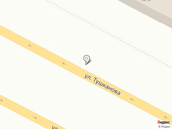 Пиротехник на карте Петропавловска-Камчатского
