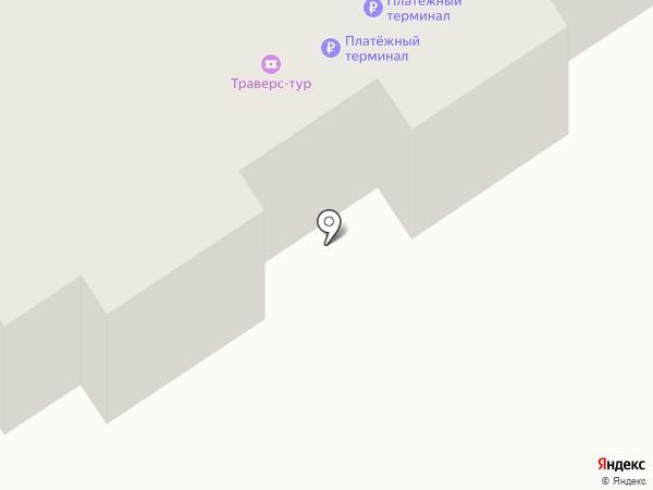 Ника на карте Петропавловска-Камчатского