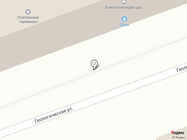 Центр электронного страхования на карте Петропавловска-Камчатского