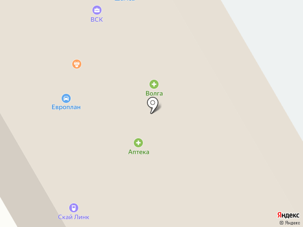 Шамса на карте Петропавловска-Камчатского