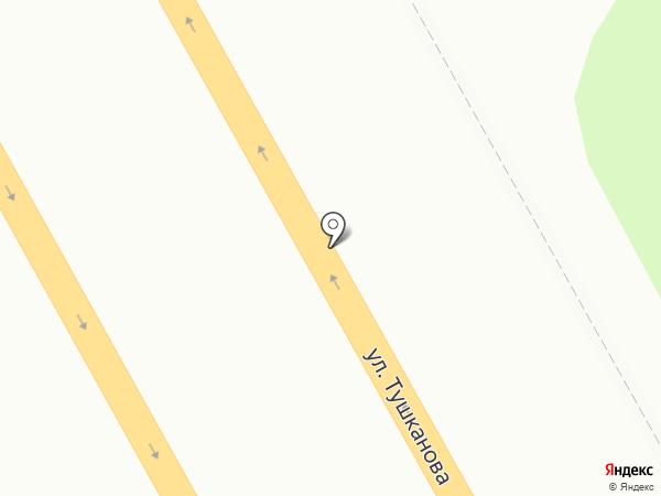 Хлебобулочный киоск на карте Петропавловска-Камчатского