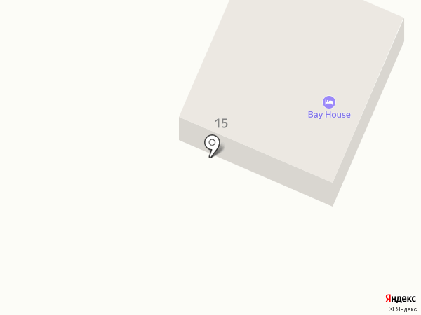 Bay House на карте Петропавловска-Камчатского