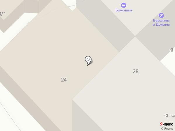HerZone на карте Петропавловска-Камчатского