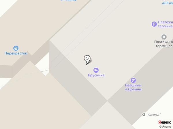 Brusnika на карте Петропавловска-Камчатского