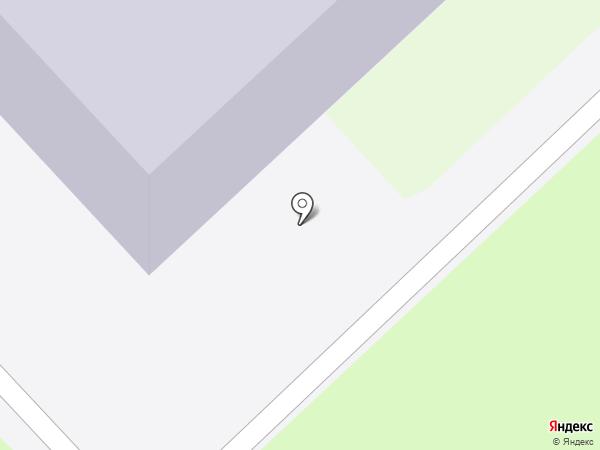 Средняя школа №43 на карте Петропавловска-Камчатского