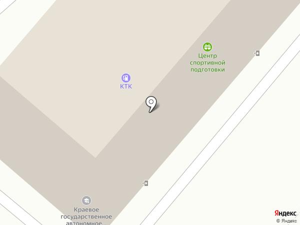 Центр спортивной подготовки Камчатского края, КГАУ на карте Петропавловска-Камчатского