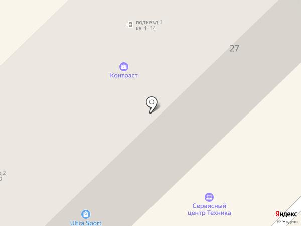Магазин мебельных тканей на карте Петропавловска-Камчатского