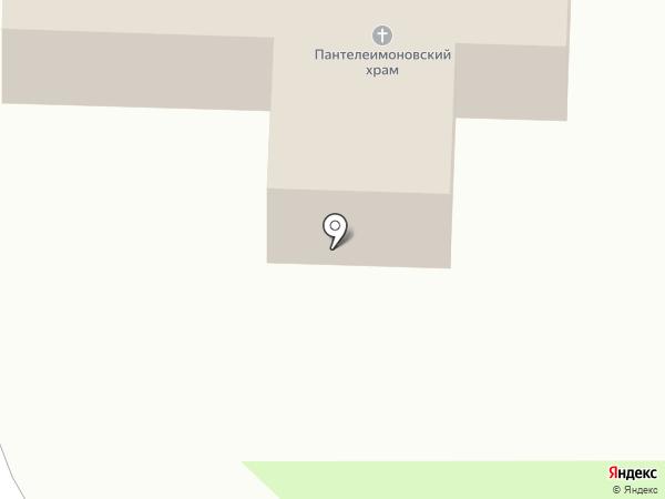 Мужской монастырь в честь святого великомученника и целителя Пантелеимона на карте Петропавловска-Камчатского