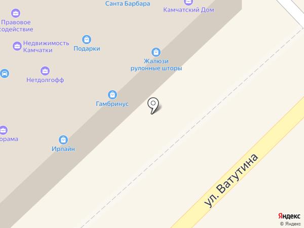 ЭФФЕКТ ЗАЙМ на карте Петропавловска-Камчатского
