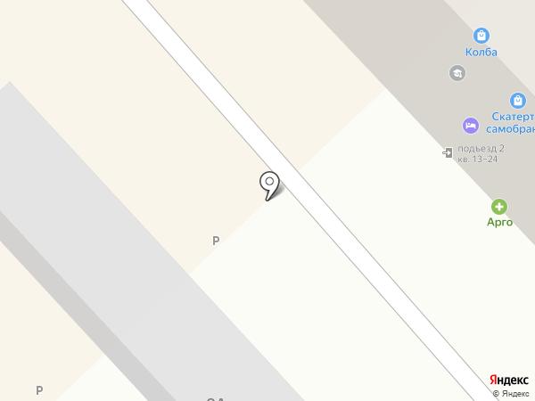 Джикам на карте Петропавловска-Камчатского