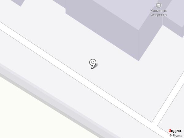 Камчатский колледж искусств на карте Петропавловска-Камчатского