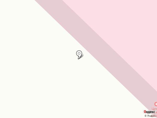 Надежда на карте Петропавловска-Камчатского