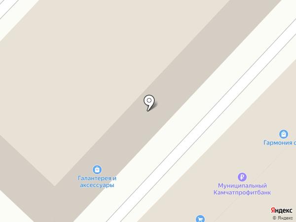 АвтоВек на карте Петропавловска-Камчатского