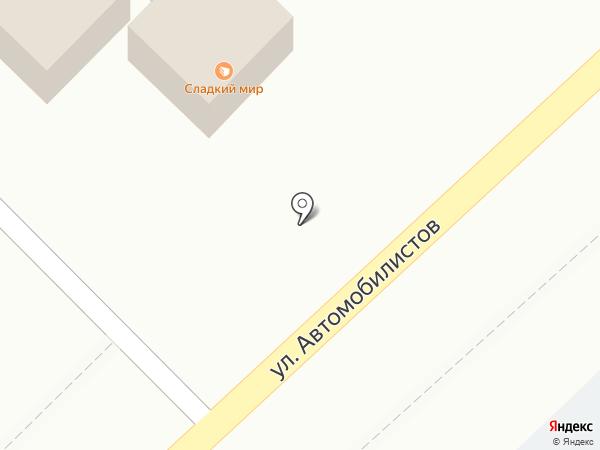 Мясная лавка на карте Петропавловска-Камчатского