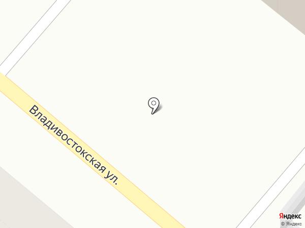 Штофъ на карте Петропавловска-Камчатского