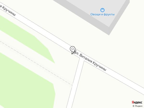 Хлебушек на карте Петропавловска-Камчатского