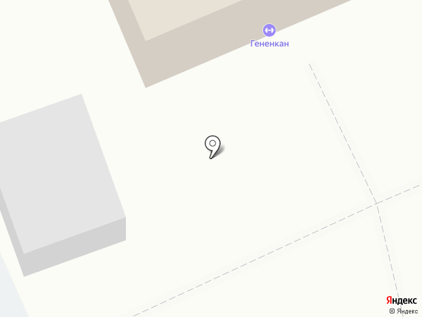 Гененкан на карте Петропавловска-Камчатского