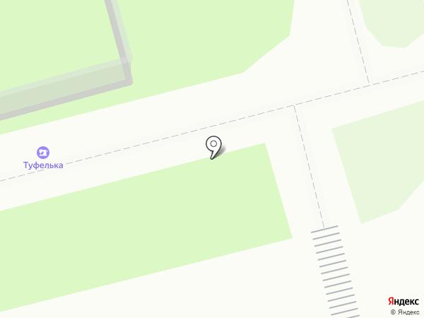 Туфелька на карте Петропавловска-Камчатского