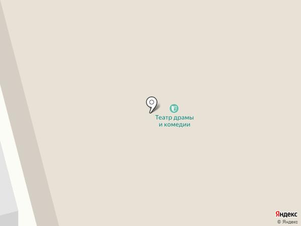 Камчатский театр драмы и комедии на карте Петропавловска-Камчатского