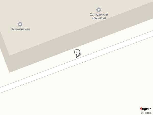 In chalet на карте Петропавловска-Камчатского