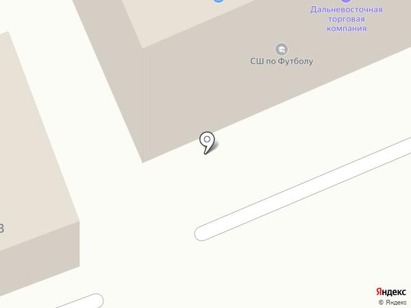 JurEast на карте Петропавловска-Камчатского