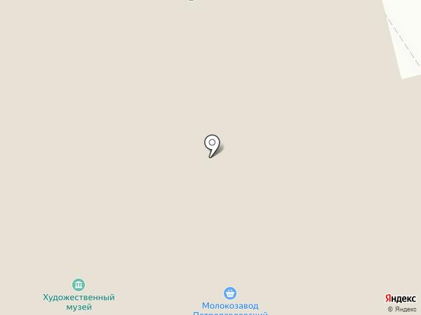 Туристский информационный центр, КГБУ на карте Петропавловска-Камчатского