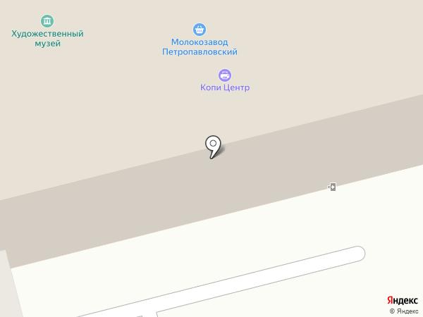 Туристский информационный центр на карте Петропавловска-Камчатского