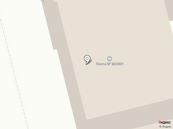 Почтовое отделение №1 на карте Петропавловска-Камчатского