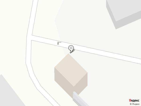 Автостоянка, МУП на карте Петропавловска-Камчатского