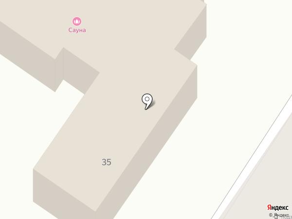 Сауна на 4-м на карте Петропавловска-Камчатского