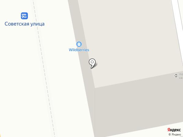 Ритм на карте Петропавловска-Камчатского