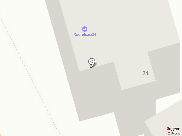 XosteLkam24 на карте Петропавловска-Камчатского
